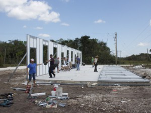 Building Project in Belize