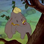 In a Tree with a Flying Elephant